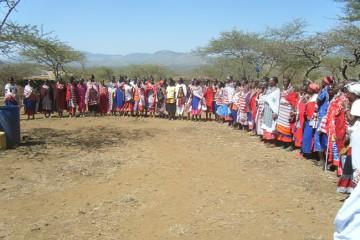 Masai Dorf im Tsavo West