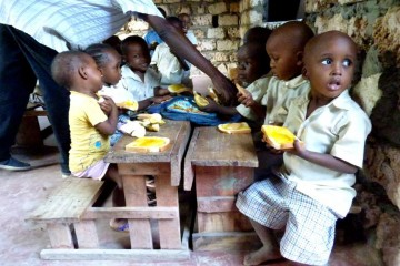 Kenia Schulbesuch