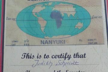Safaritagebuch Safaritagebuch Äqutor in Kenia