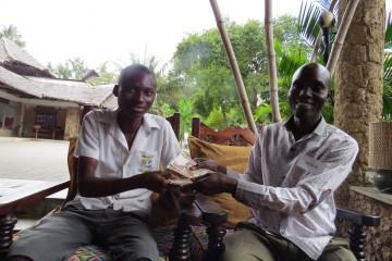 Schulgeld für Patenjungen Kenia