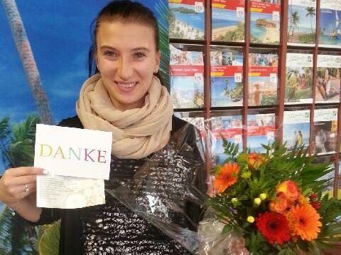 Wunderschöne Blumen - Ein Dankeschön von zufriedenen Kenia Kunden