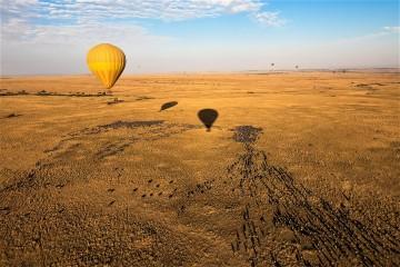Ballonfahrt in der Masai Mara Kenia
