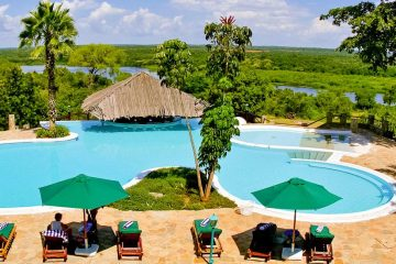Uganda Paraa Safari Lodge Gruppenreise Uganda