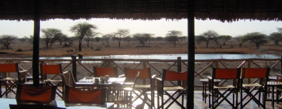 Ngutuni Lodge in Kenia