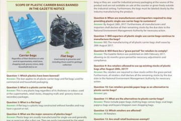 Plastiktütenverbot in Kenia Info Umweltministerium