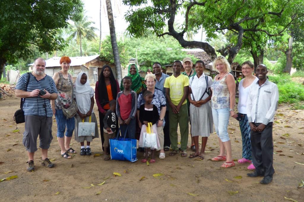 Kenia Urlaub Patenschule - im Shanzu Dorf
