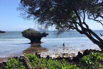 Keniaurlaub im Beach Hotel Sands at Chale Island