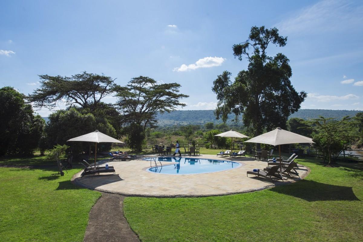 Mara Rianta Camp Masai Mara Kenia Safari Urlaub