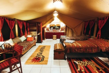 Anga Afrika Camp Luxury Boutique Nairobi Kenia Urlaub Kenia Safari