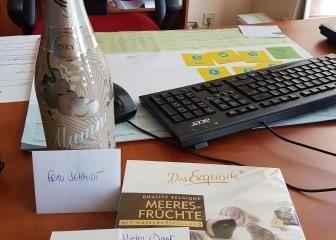 Kunden-Dankeschön an Keniaurlaub Spezialst Reisekontor Schmidt