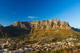 Gruppenreise Südafrika Tafelberg in Kapstadt bei klarer Sicht