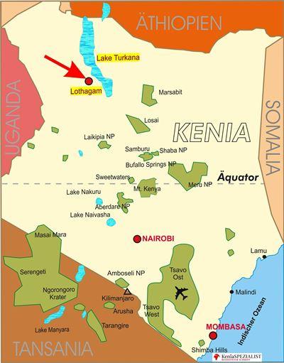 Archäologischer Fund am Lake Turkana - monumentaler 5000 Jahre alter Friedhof in Kenia entdeckt - Lothagam Nord