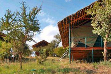 Ngorongoro Wildcamp Tansania Gruppenreise Ostafrika