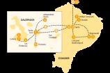Gruppenreise Galapagos Ecuador Reiseverlauf