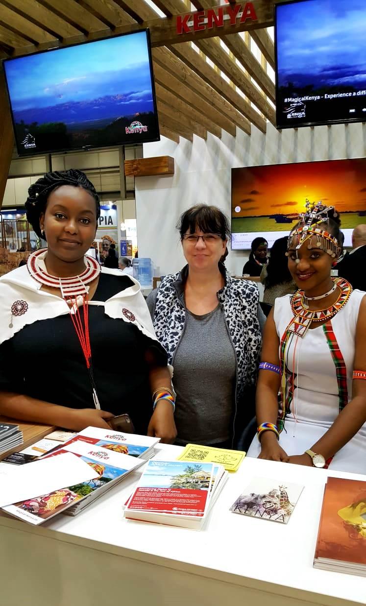 KeniaSpezialist keniaurlaub.de Reisekontor Schmidt auf der Internationalen Tourisbusbörse Berlin
