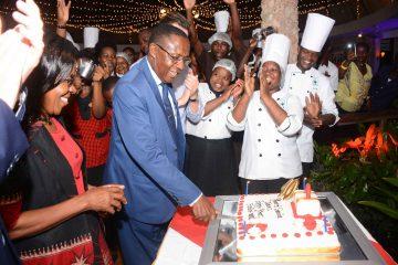 Managementwechsel in der Severin Sea Lodge Kenia