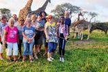 Abschlussabend Kenia Reise im Nguuni Sanctuary mit Kenia Spezialist keniaurlaub.de Reisekontor Schmidt Leipzig