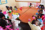 Der Kindergarten unserer Patenschule in Kenia