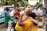 Besuch der Patenkinder im Hotel Bahari Beach Club