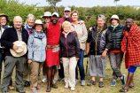 Safari in der Masai Mara - Reisegruppe des Keniaurlaub Spezialist Reisekontor Schmidt Leipzig