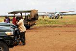 Safari in der Masai Mara - Reisegruppe des Kenia Spezialist keniaurlaub.de Reisekontor Schmidt Leipzig - Start