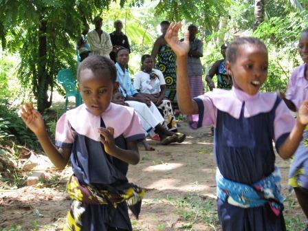 Grace Patenkind der Patenschule Keniaurlaub Keniareise 2007