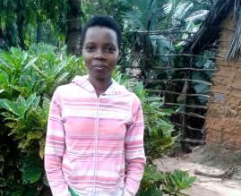 Grace ehemaliges Patenkind der Patenschule Keniaurlaub Keniareise 2020
