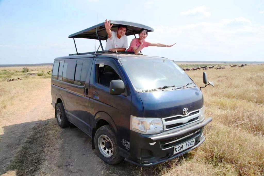 Keniaurlauber auf Kenia Safari